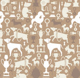 Background with dog silhouettes Royalty Free Stock Photo