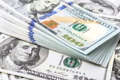 Background of  dollar bills Royalty Free Stock Photo