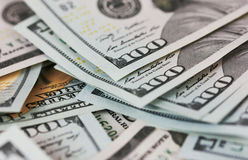 Background dollar bills close up Royalty Free Stock Images