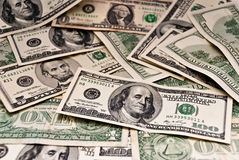 Background of dollars Stock Photo