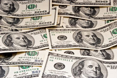 Background of dollars Stock Photography