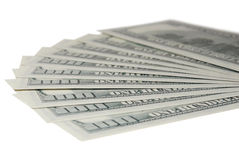 Background of dollars Royalty Free Stock Photos