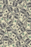Background of dollars in large Stock Images