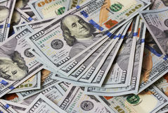 Background dollars Stock Image