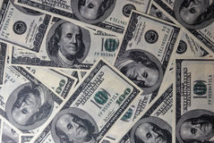 Background of dollars Royalty Free Stock Photography