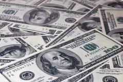 Background of dollars Royalty Free Stock Photo
