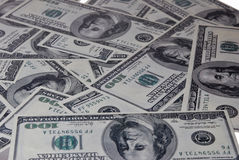 Background of dollars Royalty Free Stock Images