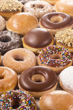 Background of Donuts Stock Photo