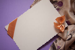 Background with drapery Stock Photo