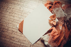 Background with drapery Stock Image