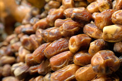 Background of dried dates fruit. Stock Image