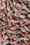 Background of dried dates fruit Stock Photo