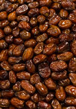 Background of dried dates fruit, at the open air market Stock Photo