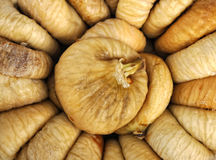 Background of dried figs Stock Image