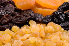 Background from dried fruits Royalty Free Stock Photos