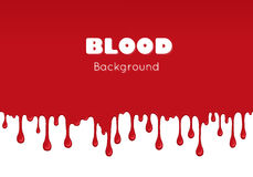 Background with drips of blood. Stock Images