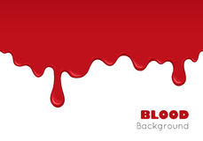 Background with drips of blood. Stock Image