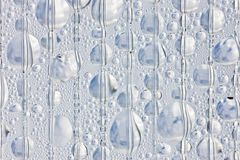 Background of the drops on a flat surface Stock Photography