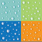 Background from the drops. Vector. Royalty Free Stock Photo