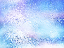 Background with drops of water. Colorful background with drops of water Stock Photo