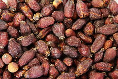 Background of dry cankerberry. Dried fruit for a drink Stock Photo