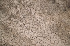 Background Dry Cracked Soil Dirt Or Earth During Drought. Dry Cracked Royalty Free Stock Images