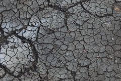 Background  of dry cracks in the land, serious water shortages, d Stock Images