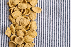 Background of dry pasta Stock Photos