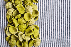 Background of dry pasta Stock Photo
