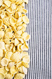 Background of dry pasta Royalty Free Stock Photo