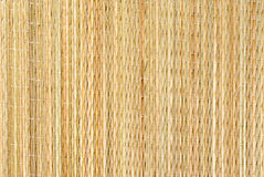 Background from dry straw tied up by threads Stock Image