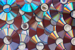 Background of the DVD Royalty Free Stock Photos