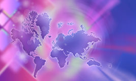 Background, earth. Pink color, yellow, blue colors, pink rays, pink  shines, created by author Royalty Free Stock Images