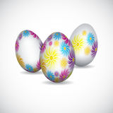 Background with easter eggs. EPS10 Stock Photos