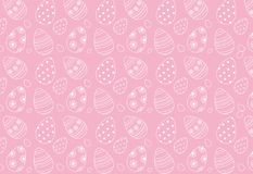 Background of Easter eggs. As a pattern Royalty Free Stock Photography