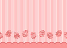 Background with easter eggs. Vector illustration stock illustration
