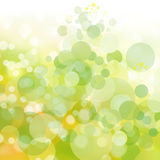 Background for easter and spring. In yellow and green royalty free illustration