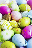 Background of eastern eggs Royalty Free Stock Image