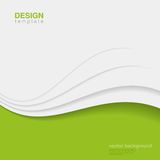 Background Eco Abstract Vector. Creative ecology d Royalty Free Stock Image