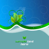 Background with ecological theme Stock Image