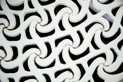 Background elaborate pattern. Made from iron Royalty Free Stock Photography