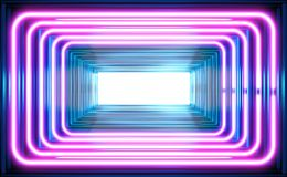 Background of electromagnetic waves. Wave mode of electromagnetic radiation, abstract background Stock Images
