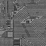 Background of electronic plate. Black and white background of electronic plate Royalty Free Stock Photos