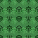 Background - Emerald Flowers Stock Photography