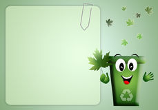 Background for the environment Stock Image