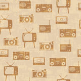 Background with equipment Stock Image