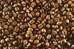 Background of espresso beans Stock Photo
