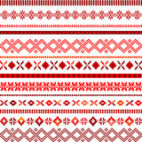 Background with ethnic motifs Royalty Free Stock Images