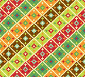 Background with ethnic motifs. Seamless pattern Vector Illustration