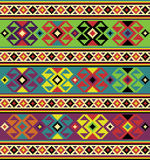 Background with ethnic motifs. Stock Image